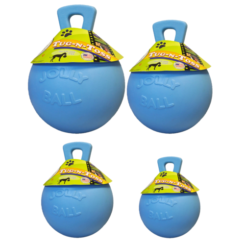 Jolly Pets  Jolly Tug-n-Toss 15 cm Baby Blauw (Bosbessengeur)