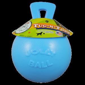 Jolly Jolly Tug-n-Toss 25cm Baby Blauw (Bosbessengeur)