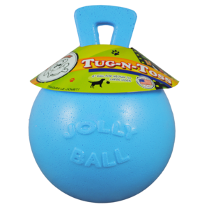 Jolly Pets  Jolly Tug-n-Toss 25cm Baby Blauw (Bosbessengeur)