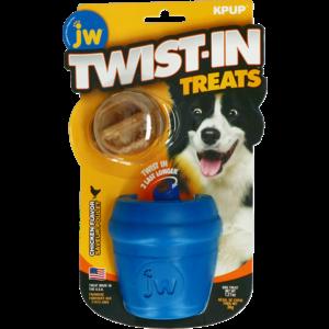 JW Twist-In Treats Toy & Treat