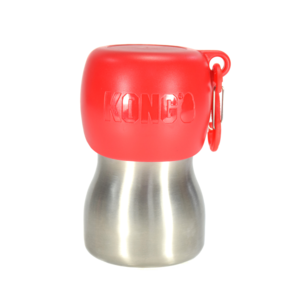 KONG H2O 255 ml rvs waterfles rood