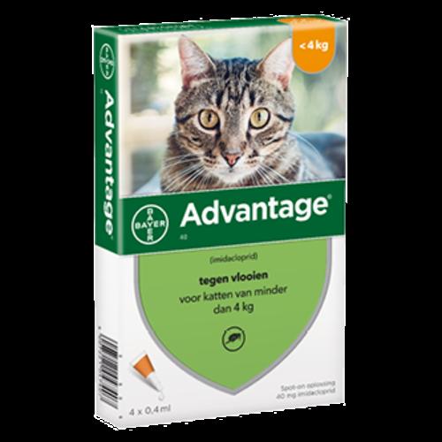 Bayer Advantage kat 40 - 4 pip