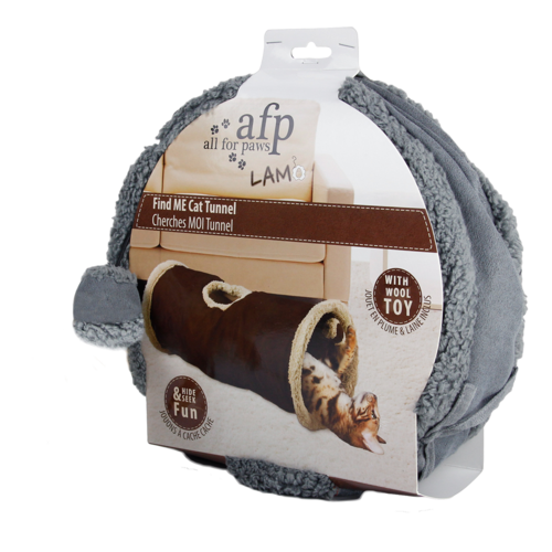 AFP AFP Lambswool - Find Me Cat Tunnel