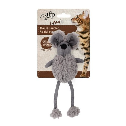 All for paws AFP AFP Lambswool-Mouse Dangler