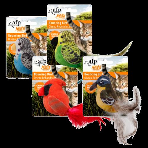 AFP Naturel Bouncing Birds assorted