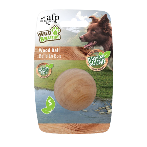 AFP Wild and Nature -  Maracas Wood Ball S
