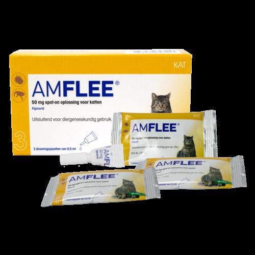 Amflee Amflee 50 mg Spot-on Kat (>1kg)