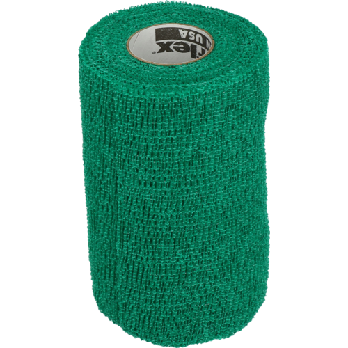 Powerflex Bandage Equine Powerflex groen 10cm
