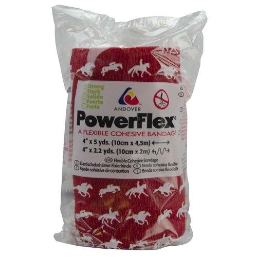 Powerflex Bandage Equine Powerflex rood 10cm