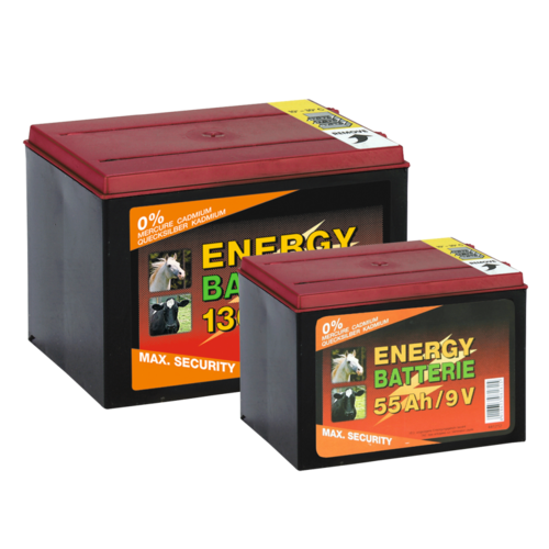 Batterij EG super 9V / 55Ah (H11,5 x L16,5 x B11,2 cm)