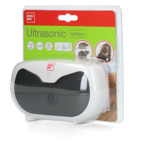 Swissino Battery Ultrasonic Rodent Repeller Indoor