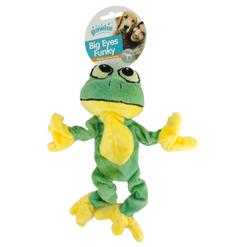 Pawise Big Eyes Funky Frog 29cm