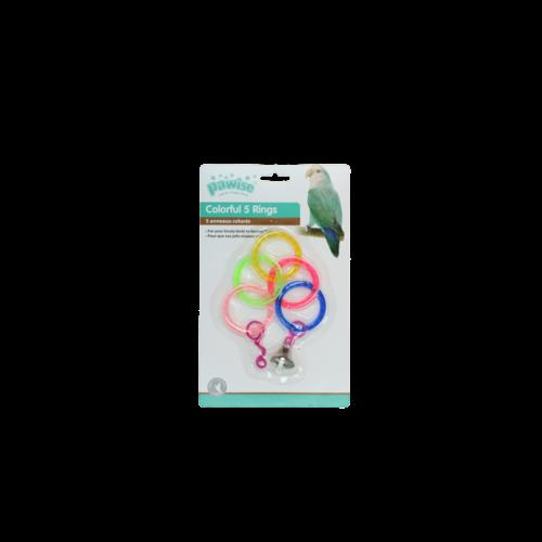 Pawise Bird colorful  ring