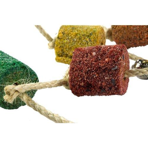 Birrdeeez Birrdeeez Coral Ball & Sisal Cluster Parrot Toy