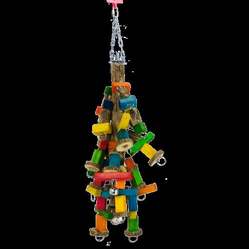 Birrdeeez Jumbo Macaw sekelbos & Chain