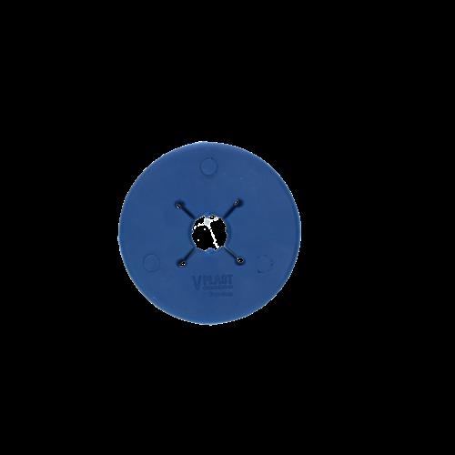Vplast Bitschijf Pony 70 mm donkerblauw