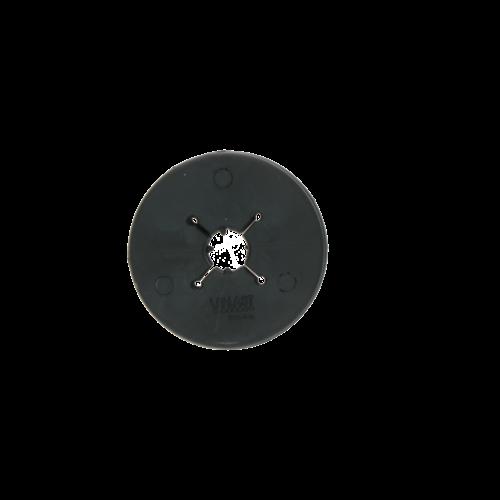 Vplast Bitschijf Pony 70 mm zwart
