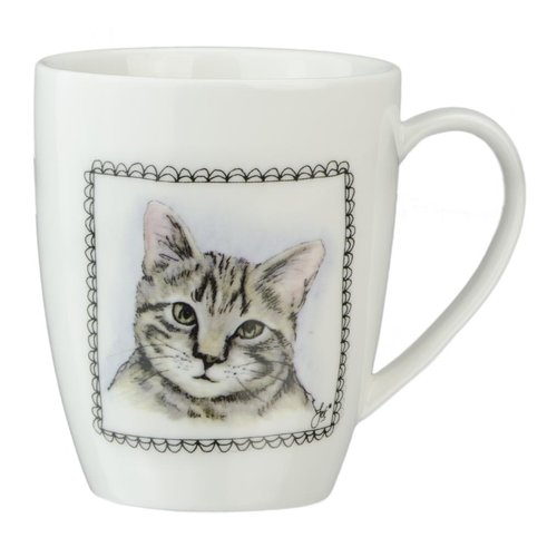 Boerenwinkel Koffiemok Hond-Kat
