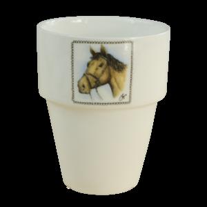 Boerenwinkel Melkbeker Paard
