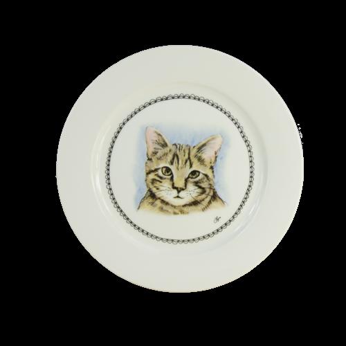 Boerenwinkel Ontbijtbord 21cm Kat