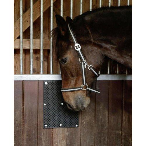 Borstelmat voor Paard, Kalf, Geit Zwart (L40xB30cm)