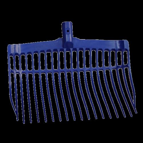 V-Plast Mestvork kunststof blauw zonder steel