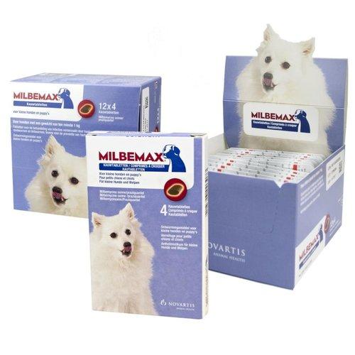 Milbemax Kauwtabletten Hond Klein Chewy 4 tabl. <5kg