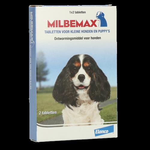 Milbemax Tabletten Puppy/Kleine hond 2 tabl. <5kg