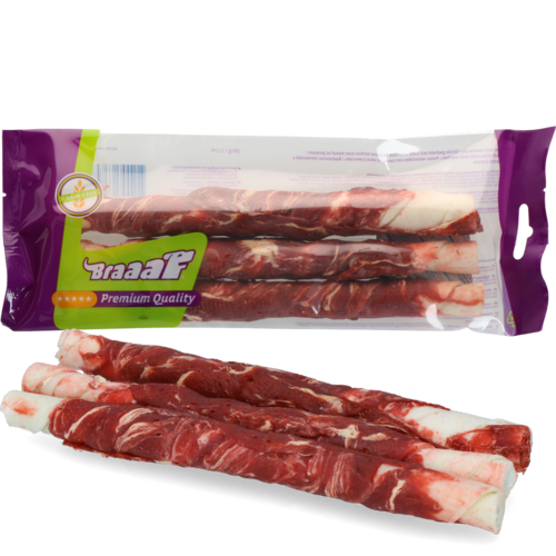 Braaaf Twister 21 cm beef and fish