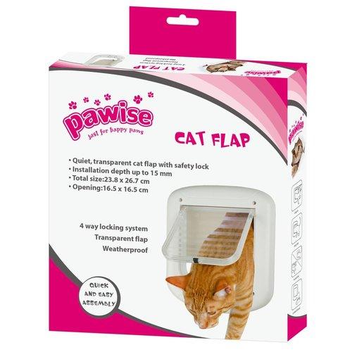Pawise Cat Flap 23 cm x 26 cm Kattenluik
