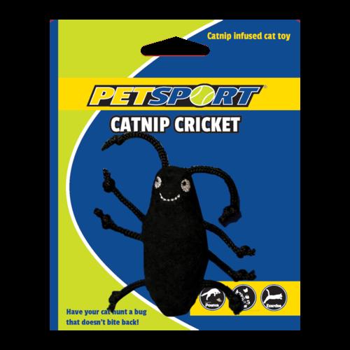 Petsport Catnip Cricket Black
