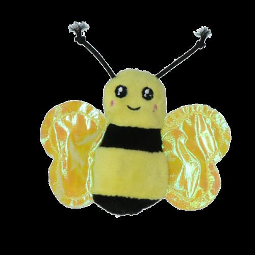 Petsport Catnip Crinkles - Bumble Bee