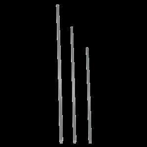 Paal Fiber Glass 80 cm grijs