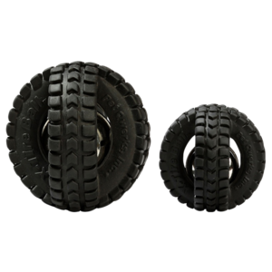 Pet Qwerks Pet Qwerks Jingle X-Tire Ball Small ø 8 cm