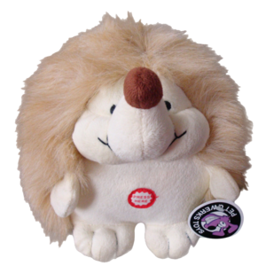 Pet Qwerks Pet Qwerks Plush Hedgehog Large 17,5 cm