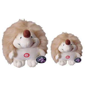 Pet Qwerks Pet Qwerks Plush Hedgehog Small 10,5 cm