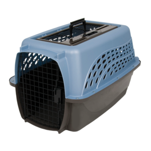 Petmate 2 Door Top Load Kennel S Blue