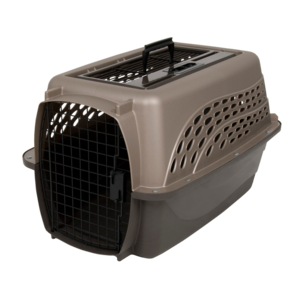 Petmate 2 Door Top Load Kennel S Brown
