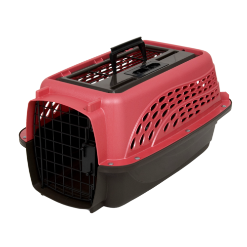 Petmate 2 Door Top Load Kennel XS Pink