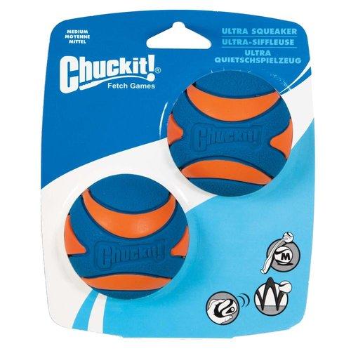 Chuckit Chuckit Ultra Squeaker Ball M 6 cm 2 pcs.