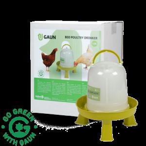 Gaun Pluimvee drinktoren 1,5 l Bio green lemon op pootjes