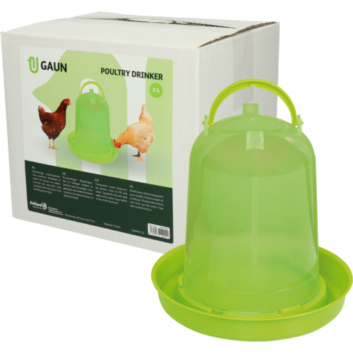 Gaun Pluimvee drinktoren 3 l green lemon