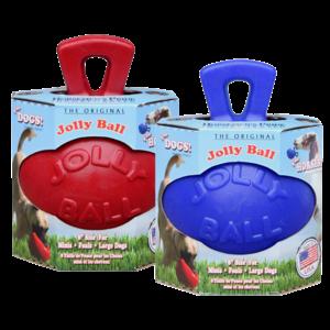 Jolly Jolly Ball 20cm rood Paard en Hond