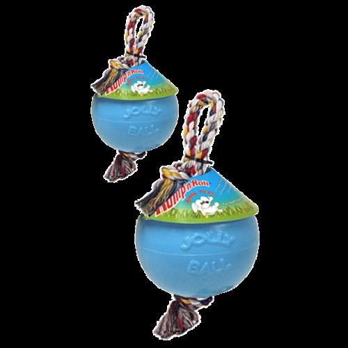Jolly Pets  Jolly Ball Romp-n-Roll 10 cm Baby Blauw (Bosbessengeur)