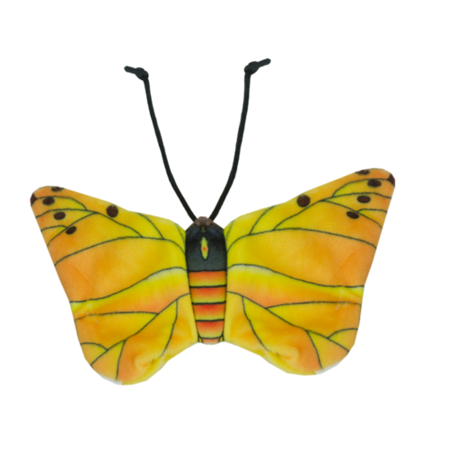 Wild Life Cat Yellow Butterfly (Gele Vlinder)