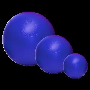 Jolly Jolly Ball Push-n-Play 15cm blauw
