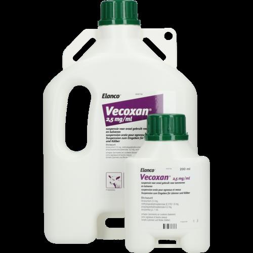 Vecoxan 2,5 mg/ml REG NL URA