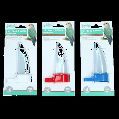 Pawise Bird feeder,90 ml/12 cm