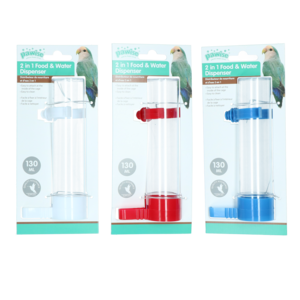 Pawise Fountain and Feeder, 130 ml/16 cm