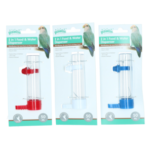 Pawise Fountain and Feeder, 50 ml/11 cm